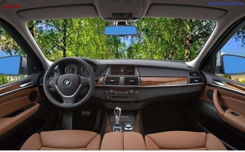 Прокат авто BMW X5 черного цвета - фото 5