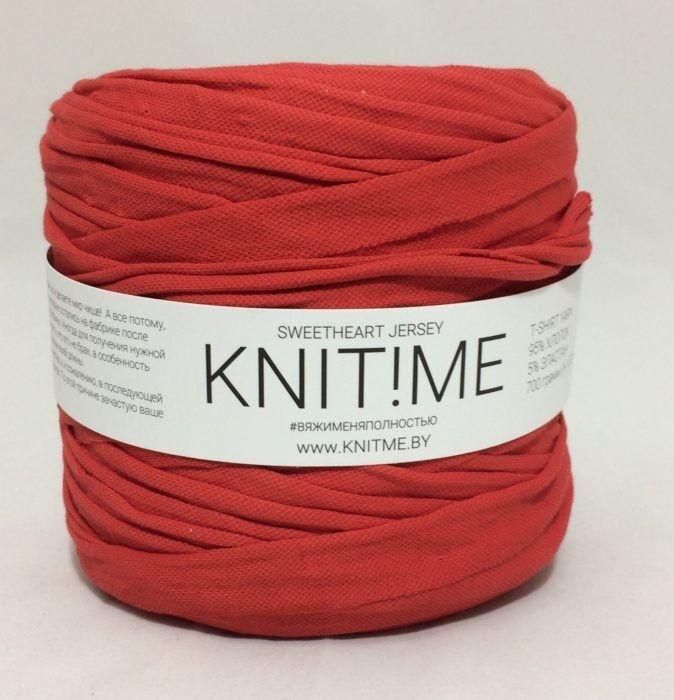 Товар для рукоделия Knit!Me Ленточная пряжа Sweetheart Jersey - SJ455 - фото 1