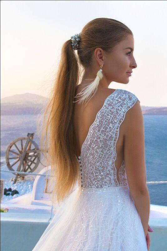 Свадебное платье напрокат Rafineza Свадебное платье Estel напрокат - фото 2