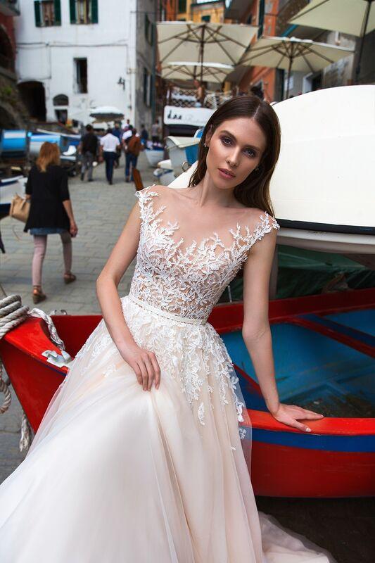 """Свадебное платье напрокат ALIZA свадебное платье """"Sensuelly"""" - фото 4"""