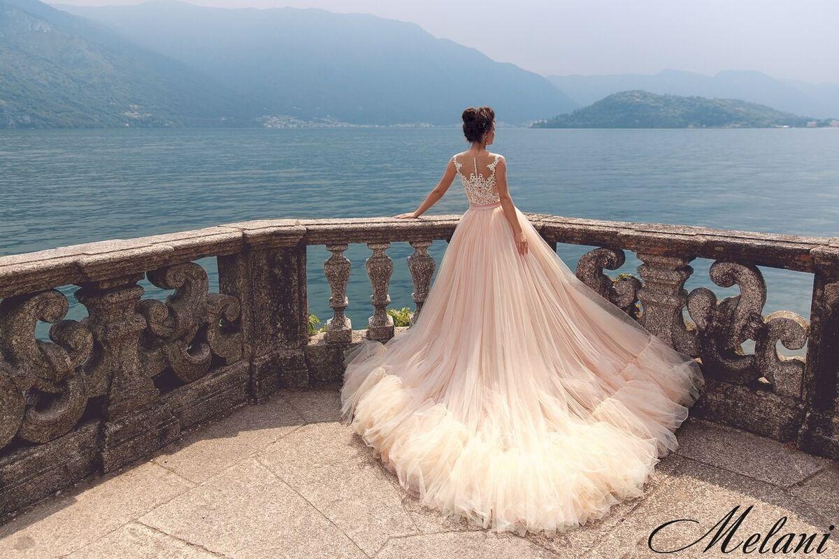 Свадебный салон Bonjour Galerie Свадебное платье Melani из коллекции Royal Luxury - фото 2