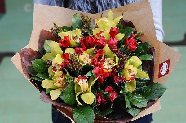 Магазин цветов Цветы на Киселева Букет «Орхидея» - фото 1