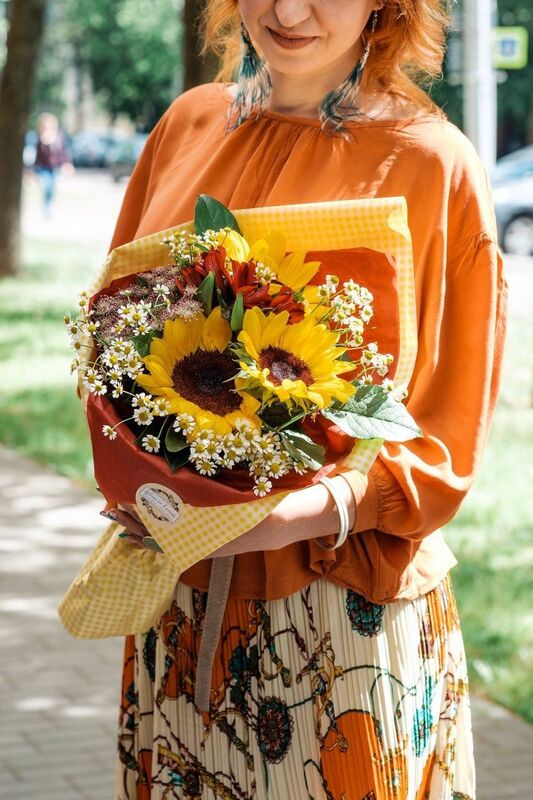 Магазин цветов Цветы на Киселева Букет «Искренний» - фото 1