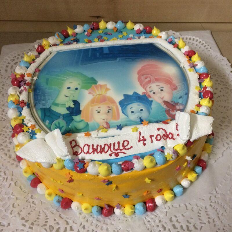Торт МЕГАТОРТ Торт «Ванюше 4 года» - фото 1