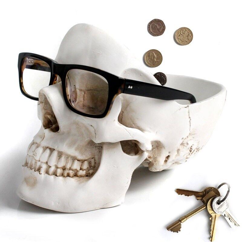 Подарок на Новый год Suck UK Органайзер для мелочей Skull - фото 2