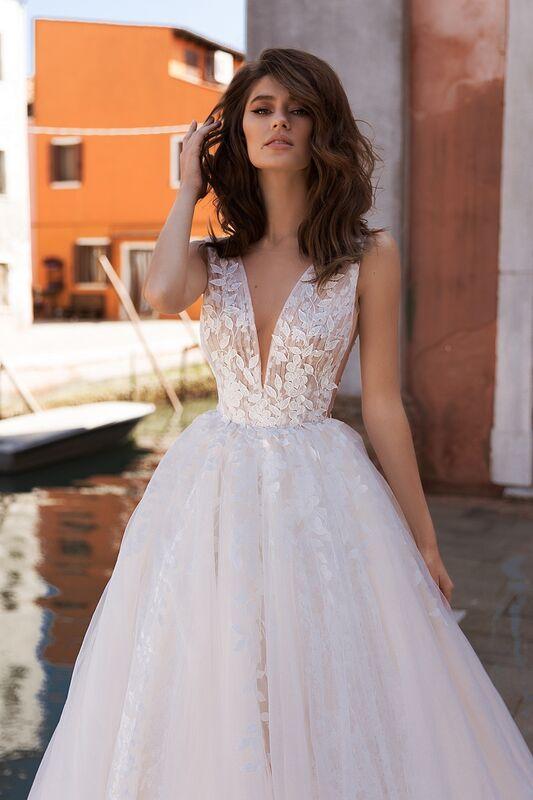 """Свадебный салон ALIZA свадебное платье  """"Quirinnye"""" - фото 2"""