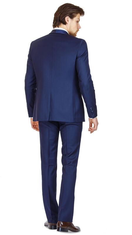 Костюм мужской HISTORIA Костюм смокинг мужской темно-синий H01 - фото 2
