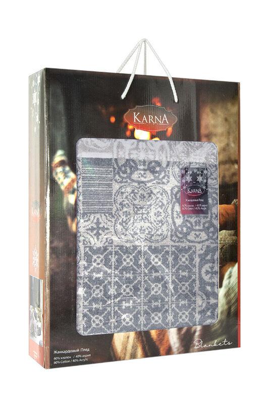 Подарок KARNA MARSHAL Хлопковый плед KARNA MARSHAL 180x240 арт. 3062/2 - фото 5