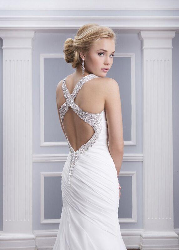 Свадебное платье напрокат Lillian West Платье свадебное «Annabelle» - фото 3
