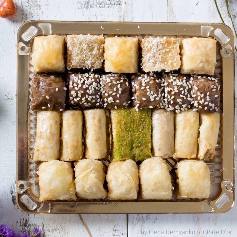 Подарок на Новый год Pate D`or Ливанские сладости ассорти «Финикия», 350 гр - фото 2