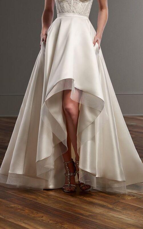 Свадебное платье напрокат Essense of Australia Платье свадебное Carter Sia - фото 4