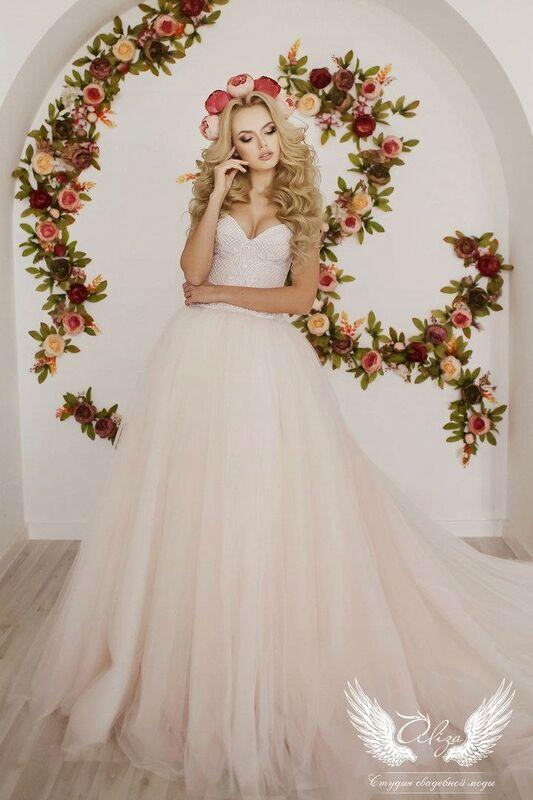 Свадебный салон ALIZA Свадебное платье «Sonata» Soffito - фото 4