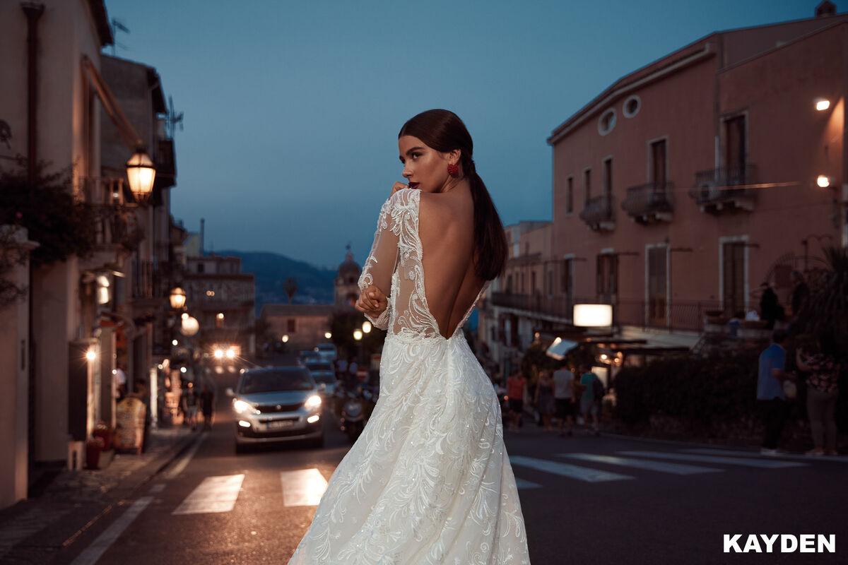 Свадебный салон Bonjour Galerie Свадебное платье KAYDEN из коллекции BELLA SICILIA - фото 3