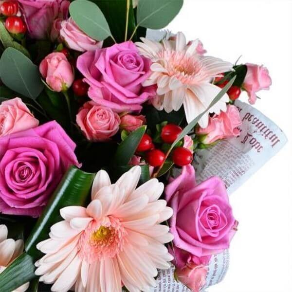 Магазин цветов Букетная Букет «Нежные чувства» - фото 3