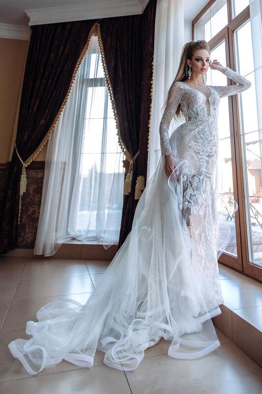 Свадебное платье напрокат Berkana Платье свадебное Renaissance - фото 1