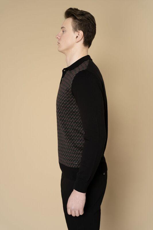 Кофта, рубашка, футболка мужская Etelier Джемпер мужской  tony montana 211395 - фото 10