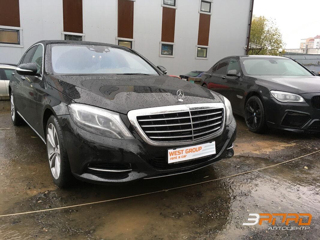 Аренда авто Mercedes-Benz S-класс W222 S500 - фото 1