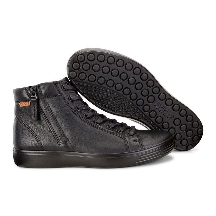Обувь мужская ECCO Кеды высокие SOFT 7 430134/59075 - фото 8