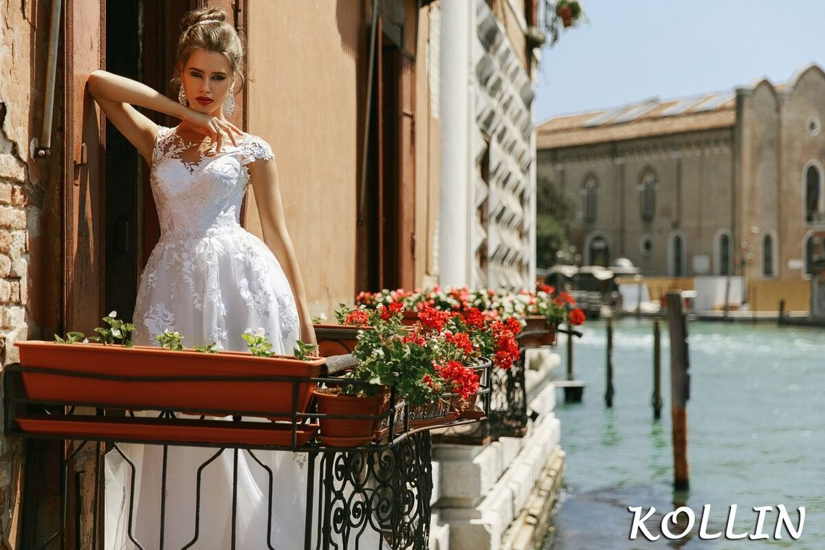 Свадебный салон Bonjour Galerie Свадебное платье Kollin из коллекции La Douceur - фото 5
