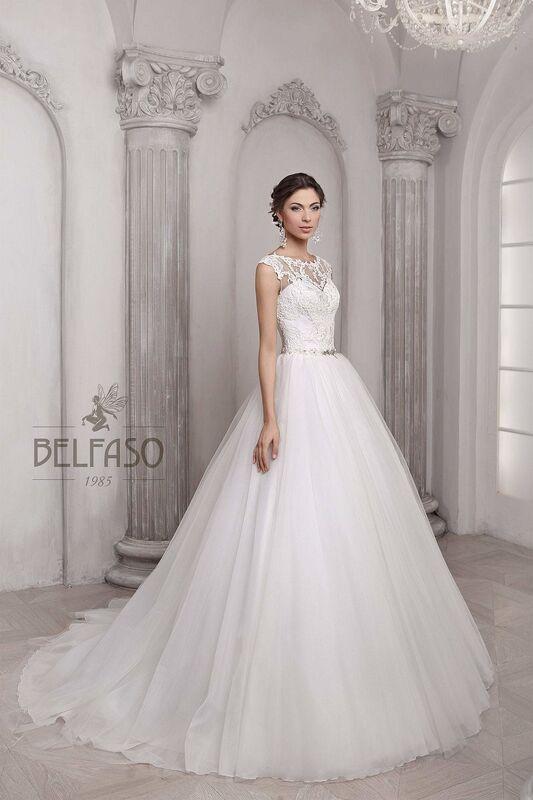Свадебное платье напрокат Belfaso Платье свадебное Nikoletta - фото 1