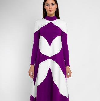 Платье женское Pintel™ Платье Lilac - фото 1