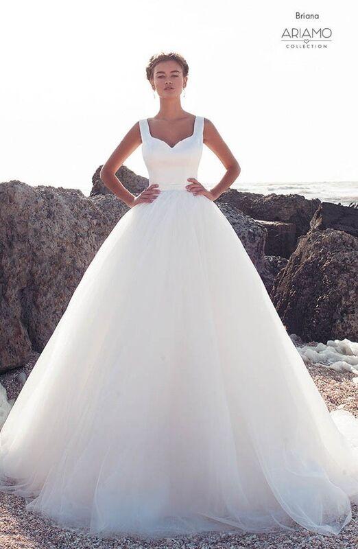 Свадебное платье напрокат Ariamo Bridal Платье свадебное Briana - фото 1