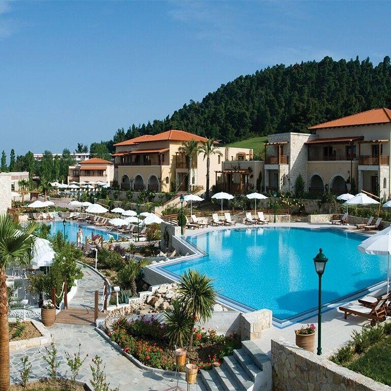 Туристическое агентство EcoTravel Пляжный авиатур в Грецию, Халкидики, Aegean Melathron Thalasso Spa Hotel 5* - фото 1