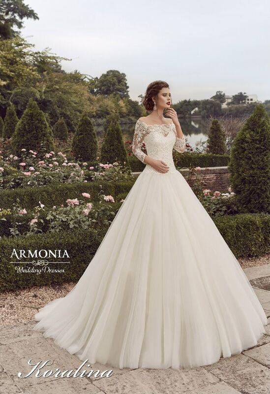 Свадебное платье напрокат Armonia Свадебное платье Koralina - фото 1