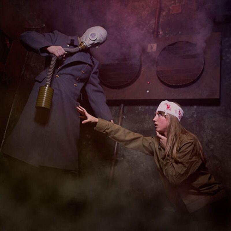 Квест PodZamkom Квест «Призрачный бункер» на 5 чел. - фото 1