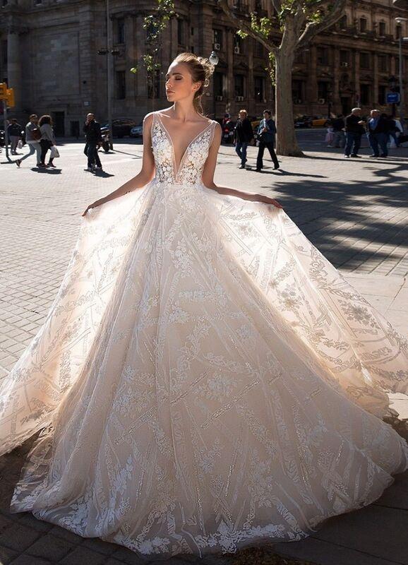 Свадебный салон Ida Torez Свадебное платье Rambla - фото 1