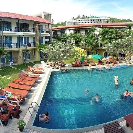 Туристическое агентство Айкью групп Пляжный авиатур в Таиланд, о. Пхукет, Baan Karon Resort 3* - фото 1
