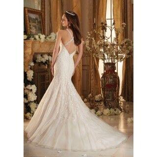 Свадебное платье напрокат Mori Lee Платье свадебное 5462 - фото 2