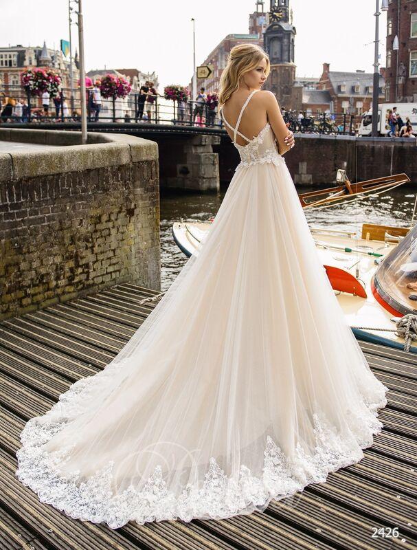 Свадебное платье напрокат Lavender Свадебное платье Mary - фото 2