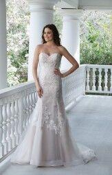 Свадебное платье напрокат Sinserity Свадебное платье 3842 - фото 6