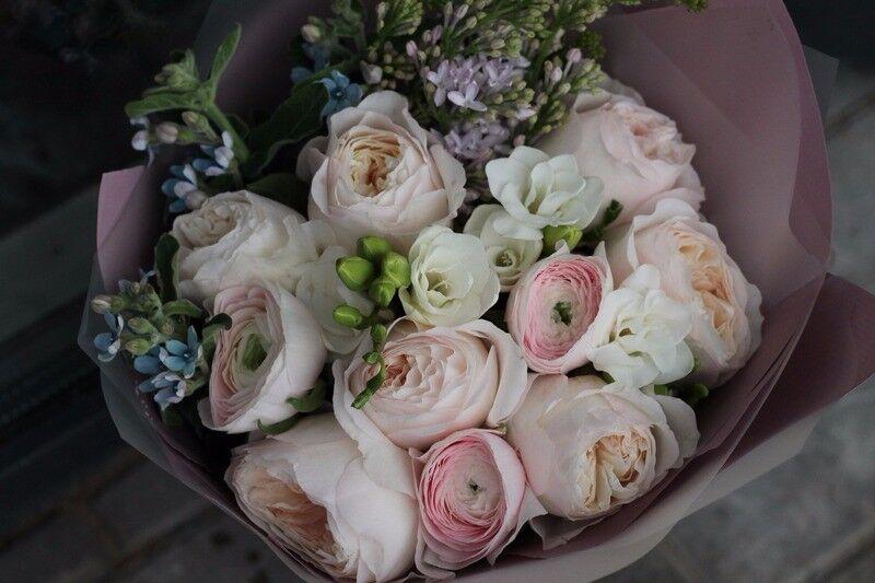 Магазин цветов Cvetok.by Букет «Прикосновение нежности» - фото 3
