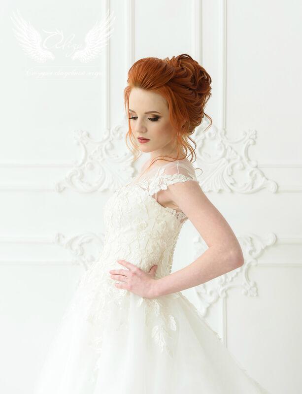 Свадебное платье напрокат ALIZA Платье свадебное «Leila» Ameli Benya - фото 5