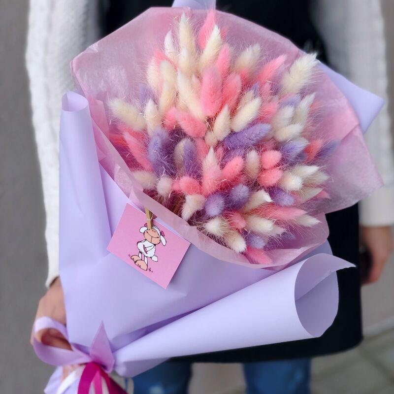 Магазин цветов Кошык кветак Букет из сухоцветов - фото 1