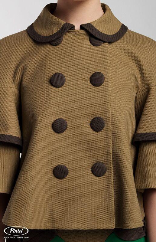 Костюм женский Pintel™ Костюм из плотного фактурного хлопка Amber - фото 2