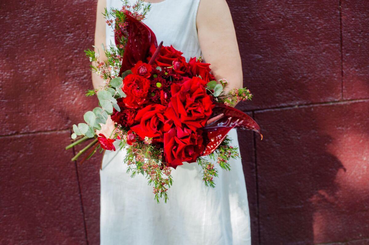Магазин цветов Цветы на Киселева Букет «Пламенный бархат» - фото 1