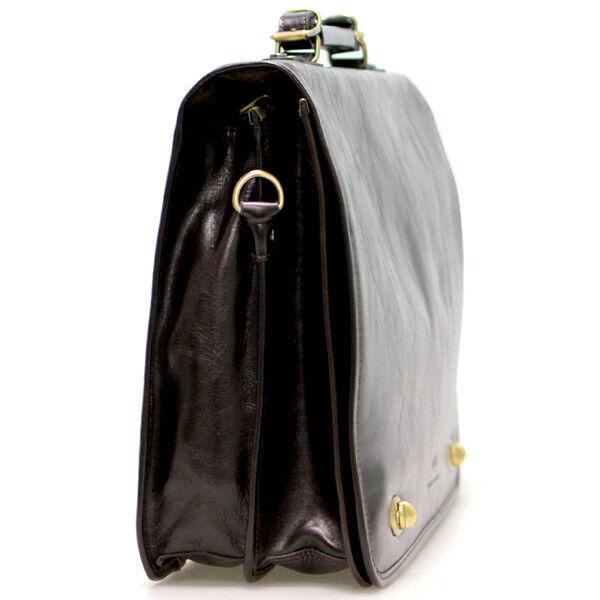 Магазин сумок Francesco Molinary Сумка мужская коричневая 513-31017-060 - фото 2
