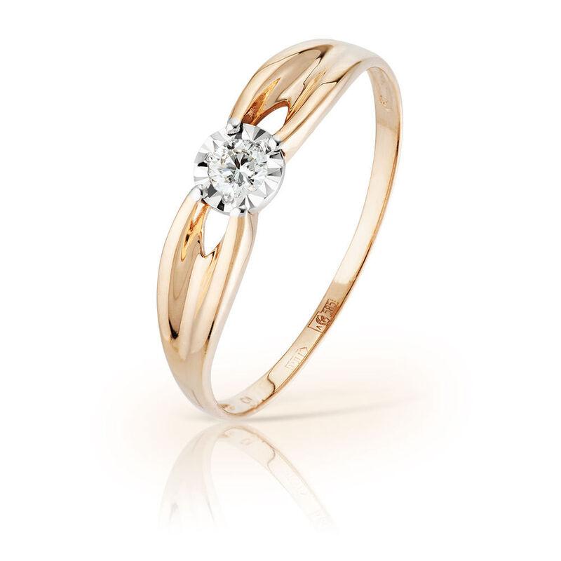 Ювелирный салон Jeweller Karat Кольцо золотое с бриллиантами арт. 3214618/9 - фото 1