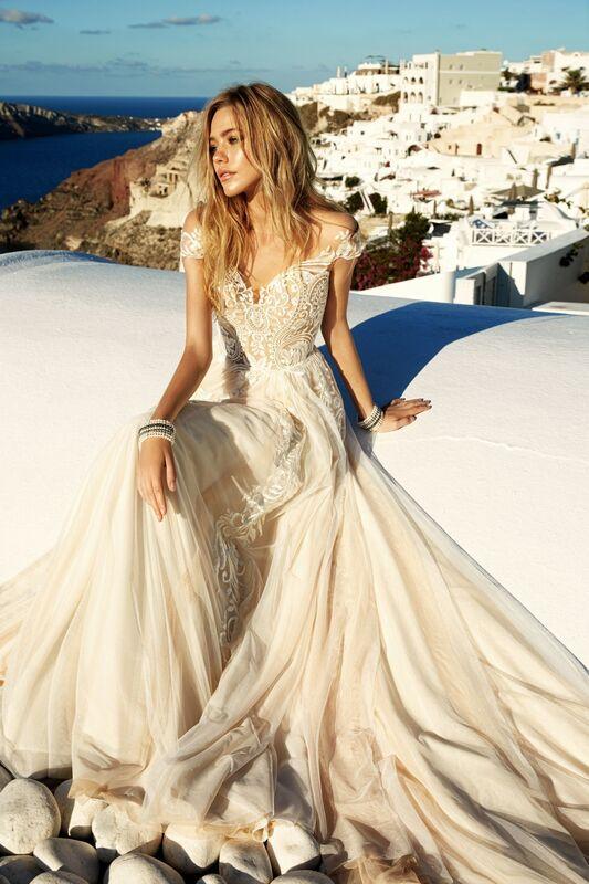 Свадебное платье напрокат Eva Lendel Платье свадебное Cameron - фото 1