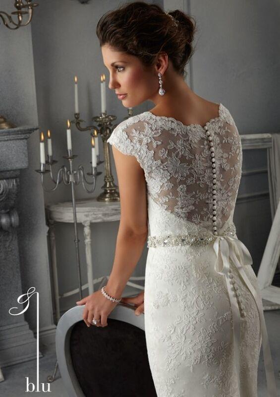 Свадебное платье напрокат Mori Lee Платье свадебное Blu 5268 - фото 2