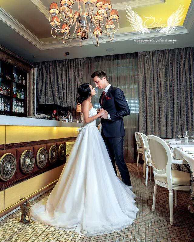 Свадебный салон ALIZA Платье свадебное «Samanta» Ameli Benya - фото 5