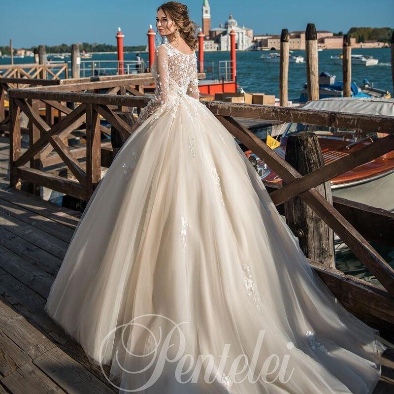 Свадебное платье напрокат Lavender Свадебное платье Afrodita - фото 2