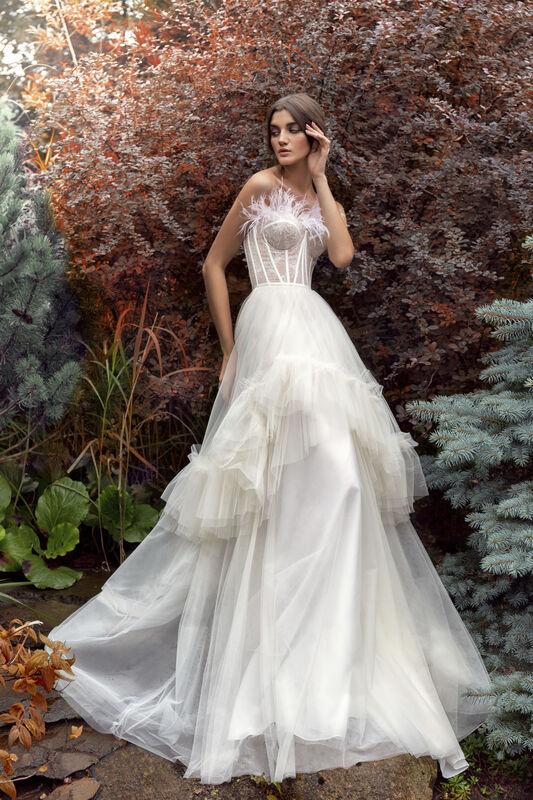 Свадебный салон Papilio Свадебное платье «Камиль» модель 19/2014L - фото 1