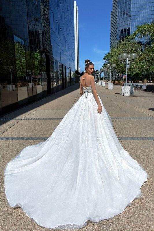 Свадебное платье напрокат Crystal Larcy - фото 3