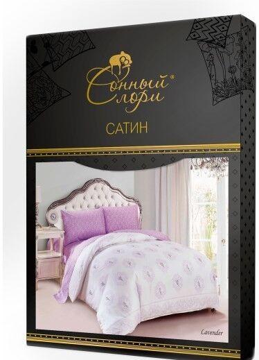 Подарок Сонный Лори Постельный комплект сатин евро арт. ФС8055 - фото 2