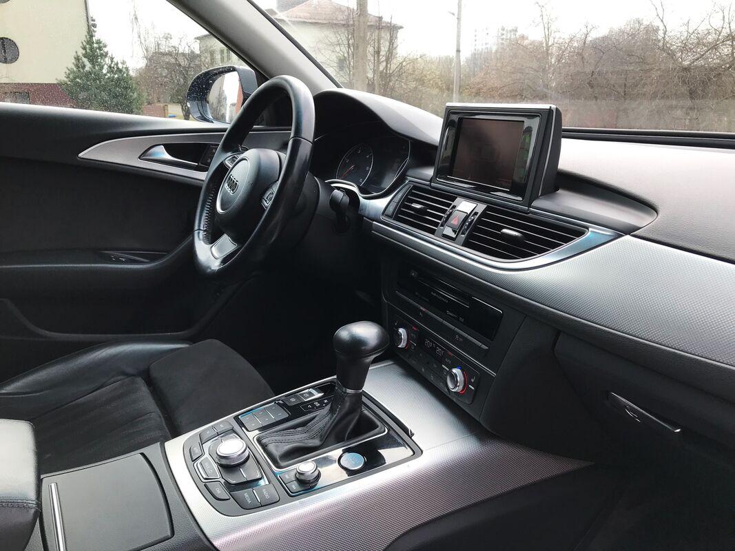 Прокат авто Audi A6 2014 черный - фото 5