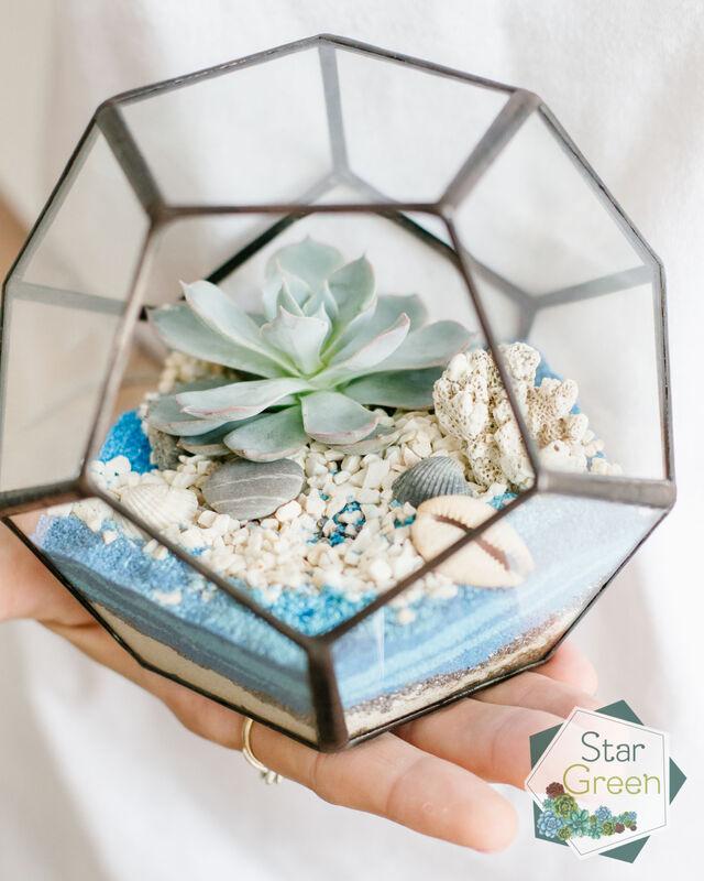 Магазин цветов StarGreen Море в шаре - фото 2